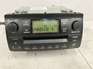 Toyota Corolla Car Stereo Radio Cd  Player Oem  Head Unit Model 58807 Ts7172a