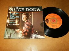 ALICE DONA - EP FRENCH PATHE 720 / LISTEN - YE YE GIRL FRENCH POPCORN