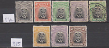 Rhodesia 1913/19 Admiral Collection Mint Mounted & Used to 2/-