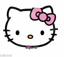 HELLO KITTY Junior Supershape Mylar Birthday Celebration Get Well Party Balloon