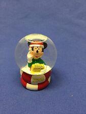 MIB JC Penney 2006 Disney Mickey Mouse Black Friday Snow Globe Christmas