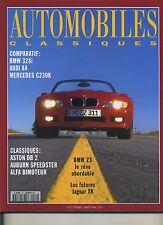 AUTOMOBILES CLASSIQUES n°72 02/1996 BMW328i AUDI A4 MERCEDES C230K ASTON DB2