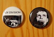 Ian Curtis Close Up Photo Joy Division Post Punk Indie 25mm Button Badge