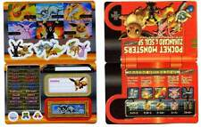 POKEMON BANDAI 2005 STICK-CARD NOCTALI EVOLI MENTALI UMBREON EEVEE JOTEON etc...