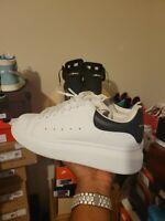 Alexander McQueen Sneakers. White/ Blue. Size 38