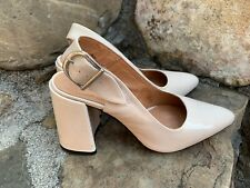 New Topshop Heels 54268 Size 37 Leather Great Condition New 130.00