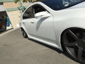 2012-2014 Acura Tl Side Skirt Extension V1  ( A Spec )