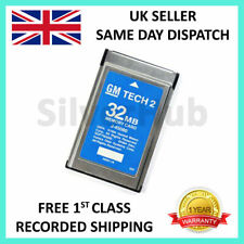 FOR GM 33.004 1991-2013 NEW GM TECH2 TECH 2 32MB MEMORY CARD SOFTWARE ENGLISH