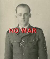 WWII GERMAN AUTHENTIC WAR PHOTO PORTRAIT ELITE DIVISION STURMMANN 31