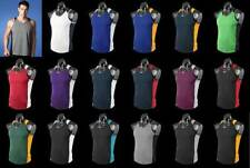 Polyester Football Activewear Tops for Men