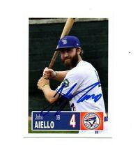 John Aiello 2018 Bluefield Blue Jays auto signed team rookie card Lansdale, PA
