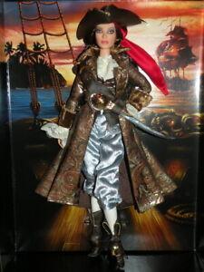 Collector Gold Label The Pirate Barbie Model Muse 2007 NRFB Piratenbarbie