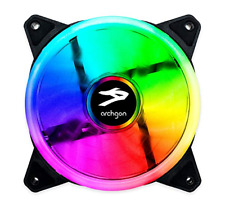 Archgon RGB Radiator Fan CPU Mirage Bright LED Colors for PC Case 120 mm Gaming