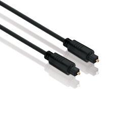0,5m Optisches Toslink Digital Audio Hifi Kabel - SPDIF / LWL - Kabeldicke 5,0mm