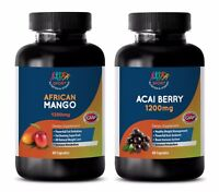weight loss extreme pills - AFRICAN MANGO – ACAI BERRY COMBO 2B - acai energy bo