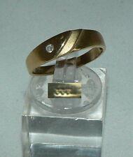 Anello in oro 333er con Diamante 0,02 ct., Tg. 55/ø 17,5 mm (da4438)