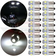 20Pcs T11 BA9S 5050 5 SMD Xenon White High Power LED Light Bulb Car DC12V Lamp