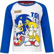 NUEVO Camisa Niños MEGA SONIC Jersey Azul Gris Rojo 98 104 116 128 #110