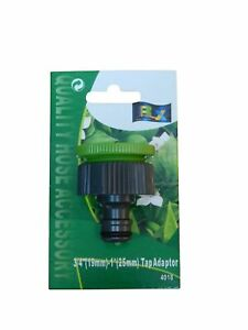 """Caravan Tap Connection  Nut Adaptor 3/4"""" and 1"""" Camping Hiking"""