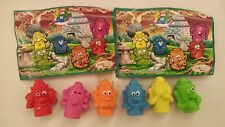 EXTRA KINDER SURPRISE MAGIC FACES SET FERRERO FIGURES COLLECTIBLES +1 PAPER