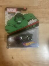 Hot Wheels Marvel Comic Book Styling The Hulk 3/4 Character Cars New Sealed