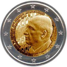 Grecia   2€ 2016  FDC   Dimitri Mitropoulos