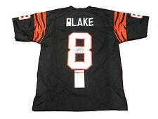 Jeff Blake Autographed Cincinnati Bengals Football Jersey #1, JSA
