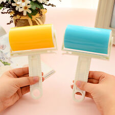 Reusable Washable Lint Roller Sticky Silicone Dust Pets Hairs Cleaning Brushes