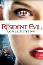 Resident Evil The Complete Collection 1 + 2 + 3 + 4 + 5 + 6 Mila Jokovich DVD R2