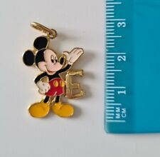 More details for mickey mouse e initial pendant - gold