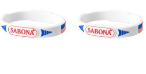 2 Pack - Sabona Pro-Magnetic Patriotic Wristband, X-Large
