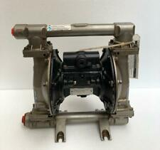"GRACO HUSKY 1050 STAINLESS STEEL 1"" AIR DOUBLE DIAPHRAGM/ TRANSFER PUMP (2)"