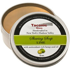 Taconic Shave Lime Handcrafted Shaving Soap - Made in USA