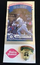 Vintage KEN GRIFFEY JR 1993 Dairy Queen Mariners Magic Moments Pin W Card #4