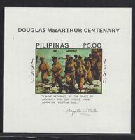 Philippines #1452 MNH S/S CV$4.50 Douglas MacArthur Centennial
