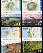 Portugal 2017 - Geopark - Azores stamp set mnh
