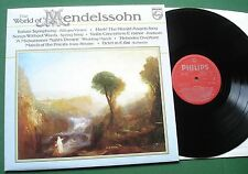 The World of Mendelssohn inc Italian Symphony & Song Without Words + 6833 204 LP