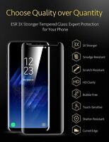 3Packs 3X Privacy Tempered Glass Screen Protector For Samsung Galaxy S8 S9 Plus