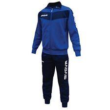 Abbiglimento sportivo da uomo blu da corsa Givova