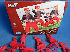 HAT Civil War Zouves series #2 -18 in 5 poses (RED) - 54MM