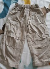 BOYS LINEN/ COTTON TROUSERS SIZE 1.5-2 YEARS NEXT