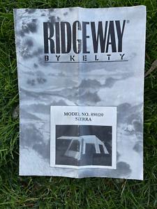 Kelty Ridgeway Sierra 8-Person 2-Room 2-Room 10' X 16' Tent