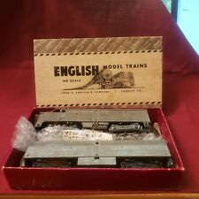 "2 ~ 1950'S VINTAGE ""HO"" ALCO ROAD DIESEL TRAINS W/BOX ~ JOIHN A. ENGLISH CO."
