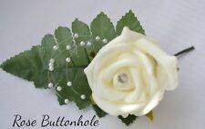 Lilac purple lavender bridal bouquet for wedding,buttonholes, corsage, groom (A)