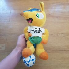 2014 Fifa World Cup Brazil Plush Soft Toy Mascot Novelty 9 inches tall