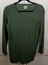 Women's Asos Tunic Top Size Small Olive Green