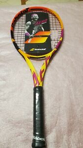 X1  2021 Babolat Pure Aero RAFA Racquet,  UN-STRUNG RRP $379, L3 4 3/8in 300G.