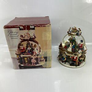 Kirkland Musical Snow Globe 109619 Nutcracker Christmas Plays Sugar Plum Fairy