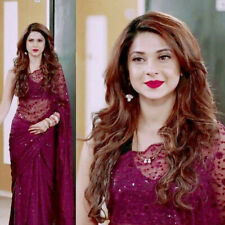 Bollywood Saree Sequence Saree Soft Net with Blouse Fancy Party wear Saree
