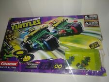 Carrera Go Teenage Mutant Ninja Turtle 2 Car/Trike Slot Race System 62196, Niob